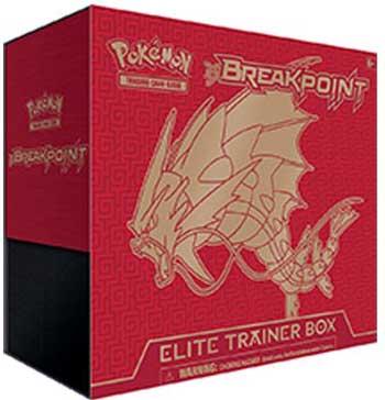 Pokemon, XY BREAKpoint, Elite Trainer Box