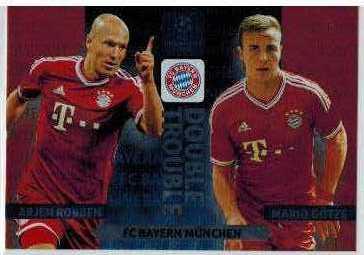 Double Trouble, 2013-14 Adrenalyn Champions League, Arjen Robben / Mario Gotze