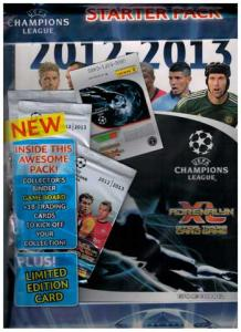 1st Startpaket, Panini Adrenalyn XL Champions League 2012-13 int. version