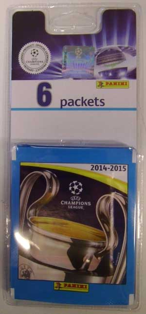 Multipack, Panini Stickers Champions League 2014-15