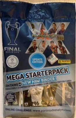 1 Mega Starterpack, Panini Adrenalyn XL Champions League Update 2014-15