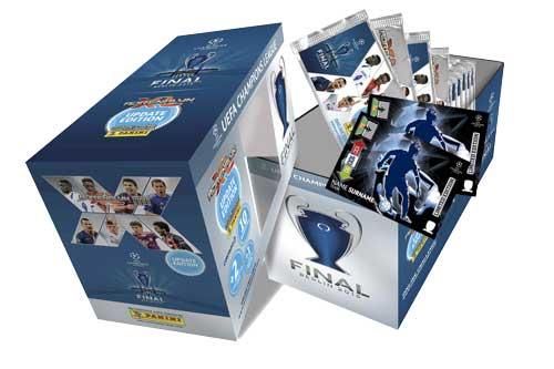 1 Giftbox, Panini Adrenalyn XL Champions League Update 2014-15