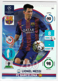 Game Changer, 2014-15 Adrenalyn Champions League, Lionel Messi