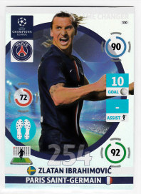 Game Changer, 2014-15 Adrenalyn Champions League, Zlatan Ibrahimovic