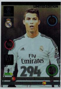 Limited Edition, 2014-15 Adrenalyn Champions League, Cristiano Ronaldo