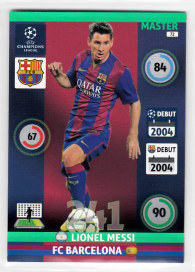 Master, 2014-15 Adrenalyn Champions League, Lionel Messi