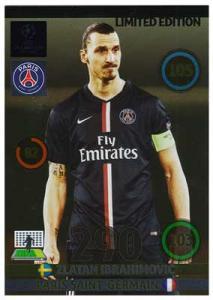 Limited Edition, Adrenalyn Champions League UPDATE 2014-15, Zlatan Ibrahimovic
