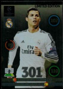 Limited Edition, Adrenalyn Champions League UPDATE 2014-15, Christiano Ronaldo