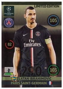 XXL Limited Edition, Adrenalyn Champions League UPDATE 2014-15, Zlatan Ibrahimovic