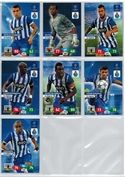 Grundkort PC Porto, 2013-14 Adrenalyn Champions League, Välj från lista