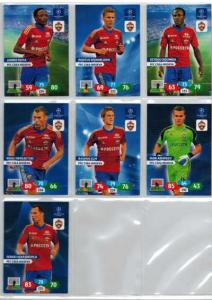 Base cards PFC CSKA Moskva, 2013-14 Adrenalyn Champions League, Pick from list