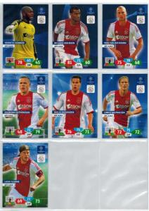 Base cards AFC Ajax , 2013-14 Adrenalyn Champions League, Pick from list