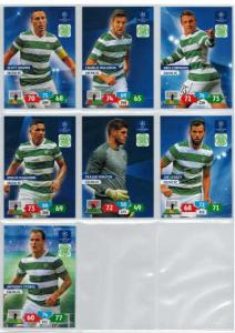 Base cards Celtic FC, 2013-14 Adrenalyn Champions League, Pick from list