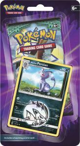 Pokémon, 1 Checklane Blister Pack Halloween: Alolan Persian