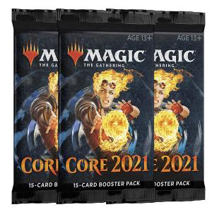 Magic, Core Set 2021, 3 Boosters