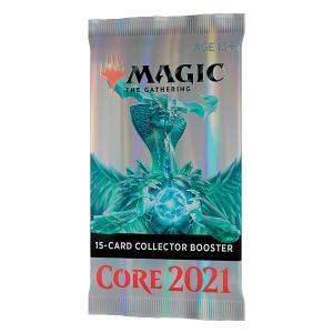 Magic, Core Set 2021 Collector Booster, 1 Booster