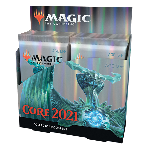 Magic, Core Set 2021 Collector Booster, Display