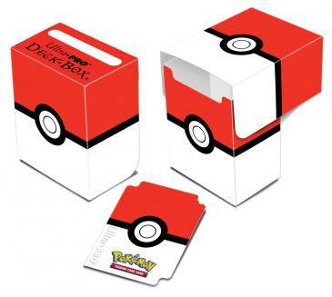 Pokémon Deck Box, Ultra Pro, Pokeball, 80 kort