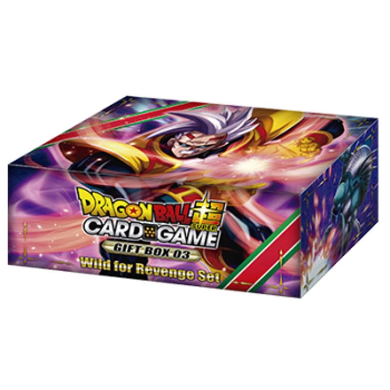 Dragon Ball Super Card Game - Wild for Revenge Set - Gift Box 03