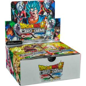 Dragon Ball Super Card Game - Cross Worlds (Set 3) - Booster Display (24 Packs)