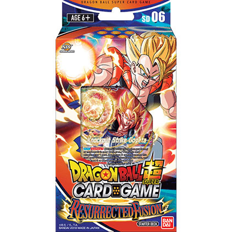 Dragon Ball Super Card Game - Resurrected Fusion - Starter Deck 6