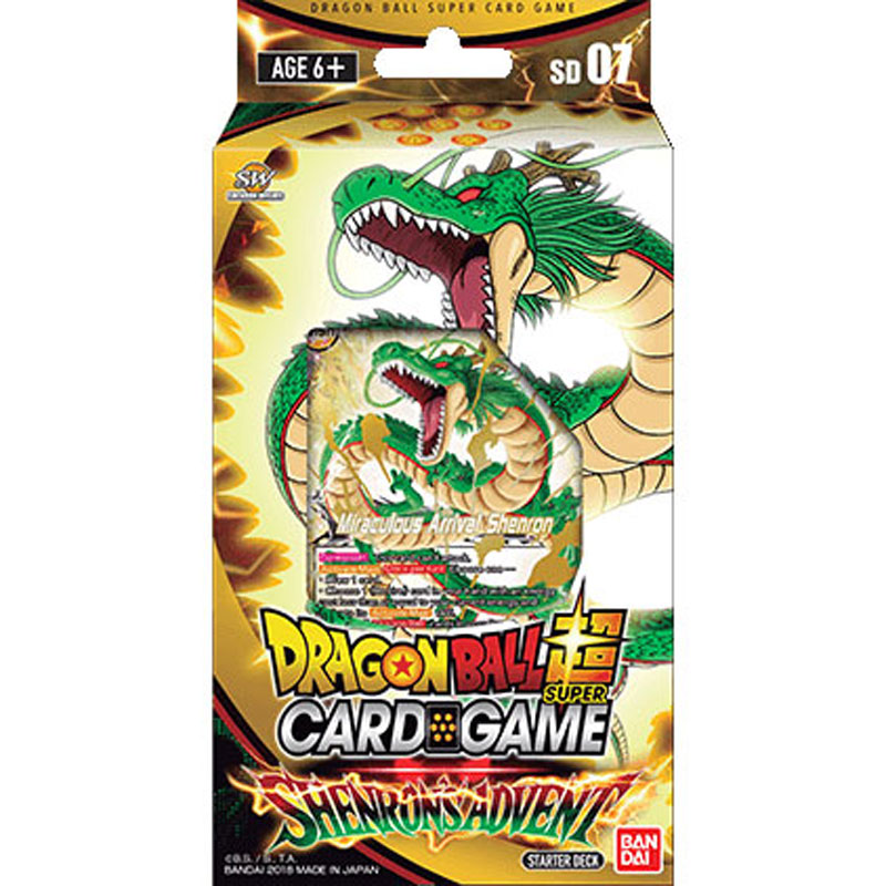 Dragon Ball Super Card Game - Shenron's Advent - Starter Deck 7