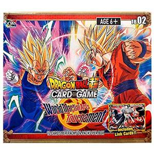 Dragon Ball Super Card Game - World Martial Arts Tournament (Themed Booster Set 2) - Booster Display (24 Packs)