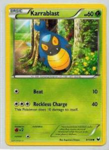 Pokémon, Dark Explorers, Karrablast - 9/108 - Common