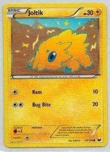 Pokémon, Dark Explorers, Joltik - 41/108 - Common