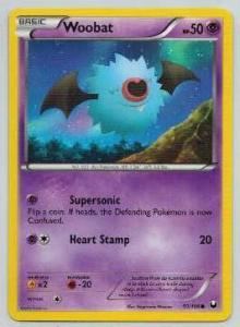 Pokémon, Dark Explorers, Woobat - 50/108 - Common