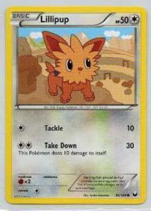 Pokémon, Dark Explorers, Lillipup - 86/108 - Common