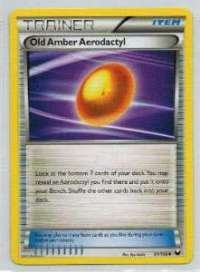 Pokémon, Dark Explorers, Old Amber Aerodactyl - 97/108 - Uncommon