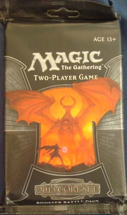 Magic, 2013 Core Set, Booster Battle Pack