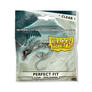 Dragon Shield, Perfect Fit Sideloader Sleeves - Clear