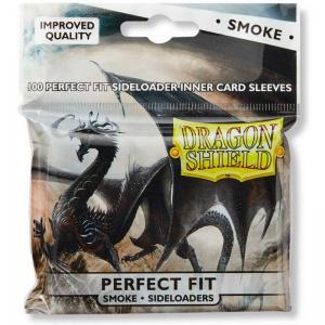 Dragon Shield, Perfect Fit Sideloader Sleeves - Smoke