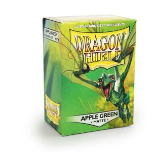 Dragon Shields Matte, 100 sleeves, Apple Green