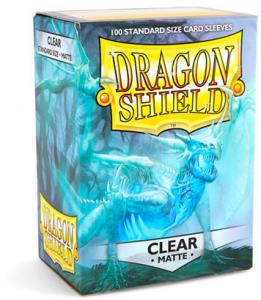 Dragon Shields Matte, 100st, Clear