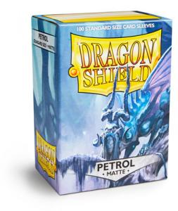 Dragon Shields Matte, 100 sleeves, Petrol (Sort of turquoise like...hard to describe)