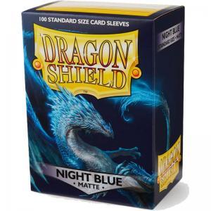 Dragon Shields Matte, 100st, Night Blue