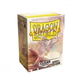Dragon Shields Matte Non-Glare, 100st, Clear - NON-GLARE