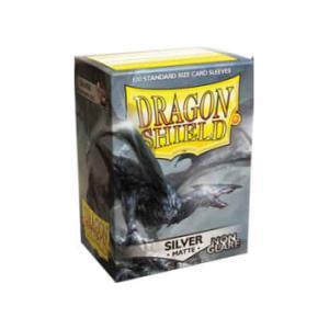 Dragon Shields Matte Non-Glare, 100st, Silver - NON-GLARE