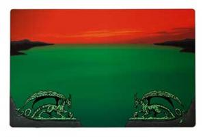 Dragon Shield, Playmat, Zone red