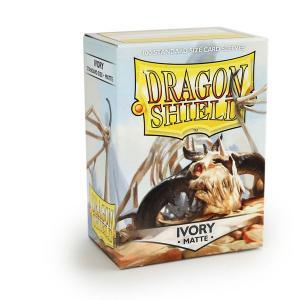 Dragon Shields Matte, 100 sleeves, Ivory