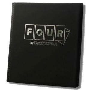 Deck Tutor Four 2.0, 12-Pocket Collector's Portfolio - Svart