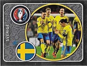 Sverige (Zlatan Ibrahimovic etc.), Euro 2016 Sticker #463