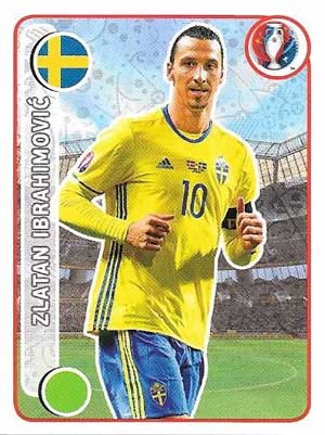 Zlatan Ibrahimovic, Euro 2016 Sticker #543