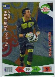 Goal Stoppers, 2013-14 Adrenalyn Road to the World Cup, Fernando Muslera