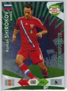 Fan Favourite, 2013-14 Adrenalyn Road to the World Cup, Roman Shirokov