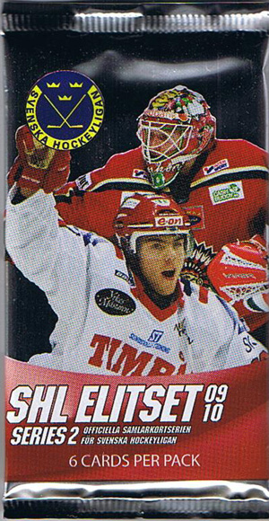 1 Pack 2009-10 Swedish SHL series 2