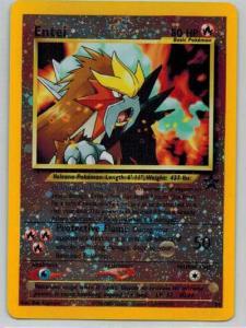 Pokémon, Promo, Entei - 34 - Reverse Rare